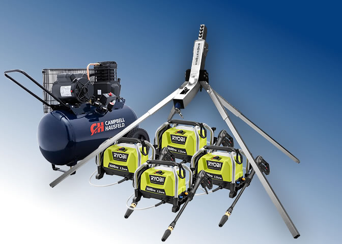 Home Snow Making Machine - Quadruple Package