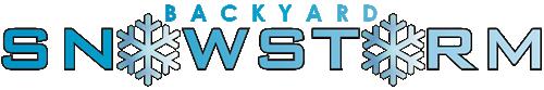 Backyard Snowstorm Logo