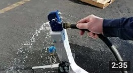 Snow Gun Water Filter Cleaning