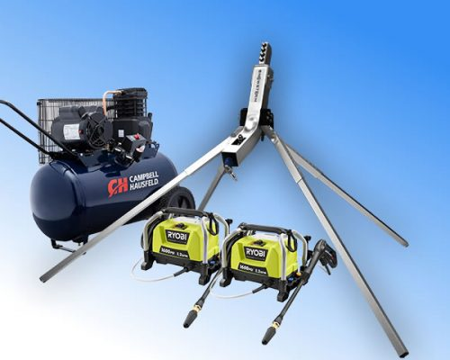 Double train snowmaking package